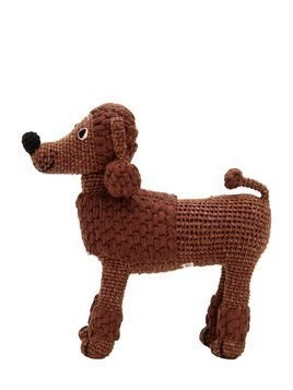 HAND-CROCHETED ORGANIC COTTON POODLE