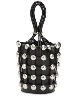 MINI ROXY STUDDED BUCKET BAG