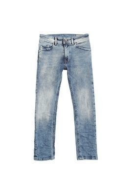STRETCH COTTON DENIM JEANS