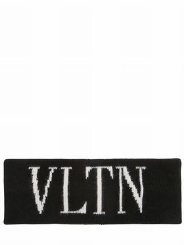 VLTN WOOL & CASHMERE KNIT HEADBAND