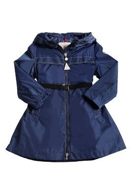 MORORVA HOODED NYLON DOWN COAT