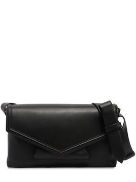 POSTA NAPPA LEATHER CROSSBODY BAG