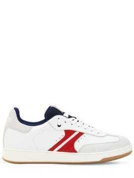 RED BLAZE LEATHER SNEAKERS