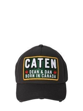 COTTON CANVAS BASEBALL HAT