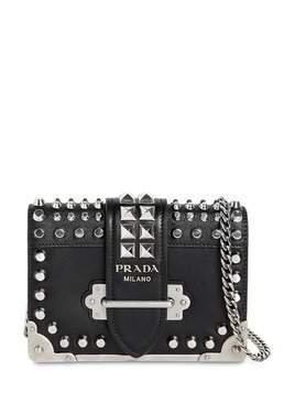 SMALL CAHIER STUDDED LEATHER BAG