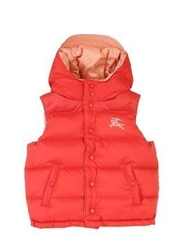 REVERSIBLE NYLON DOWN VEST