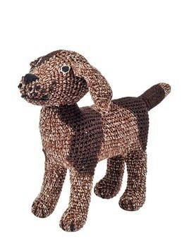 HAND-CROCHETED ORGANIC COTTON DOGGY