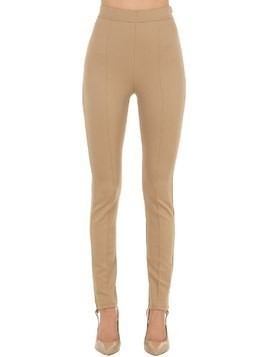 STRETCH TECHNO JERSEY LEGGINGS