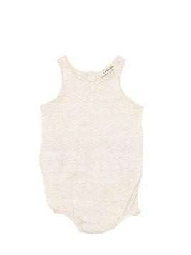 SLUB COTTON JERSEY BODYSUIT