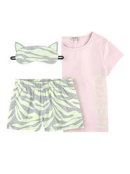 2-piece pyjamas and phosphorescent night mask - Glow in the Dark