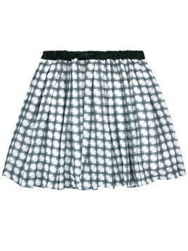 Checked skirt