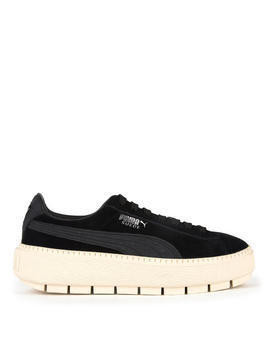 Suede leather trainers - Trace Dots Jr