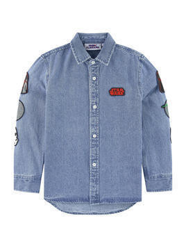 Jean shirt with patches - Star Wars