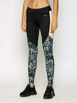 Roxy Legginsy Freed From Desires ERJNP03327 Kolorowy Slim Fit