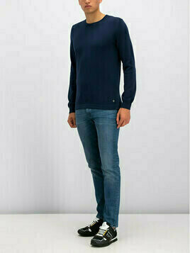 Marc O'Polo Sweter 927 5008 60074 Granatowy Regular Fit