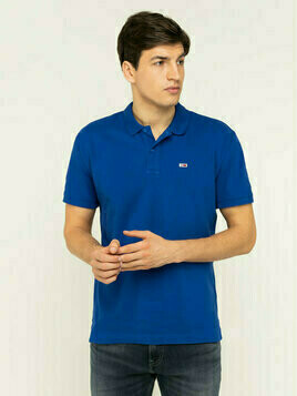 Tommy Jeans Polo Classics Solid Stretch DM0DM07196 Granatowy Regular Fit