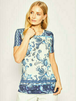 Desigual T-Shirt Melian 20SWTKAN Kolorowy Regular Fit
