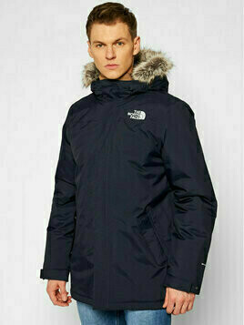 The North Face Kurtka outdoor Zaneck NF0A4M8HRG11 Granatowy Regular Fit