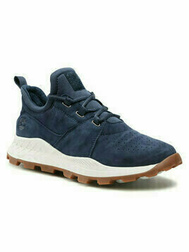 Timberland Sneakersy Brooklyn Lace Oxford TB0A1YVP019 Granatowy