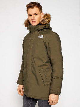 The North Face Kurtka zimowa Zaneck NF0A4M8H21L1 Zielony Regular Fit