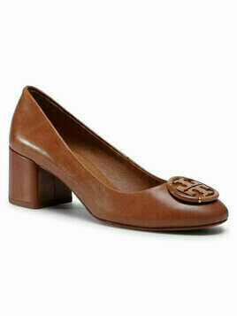 Tory Burch Półbuty 55MM Multi Logo Pump 76483 Brązowy