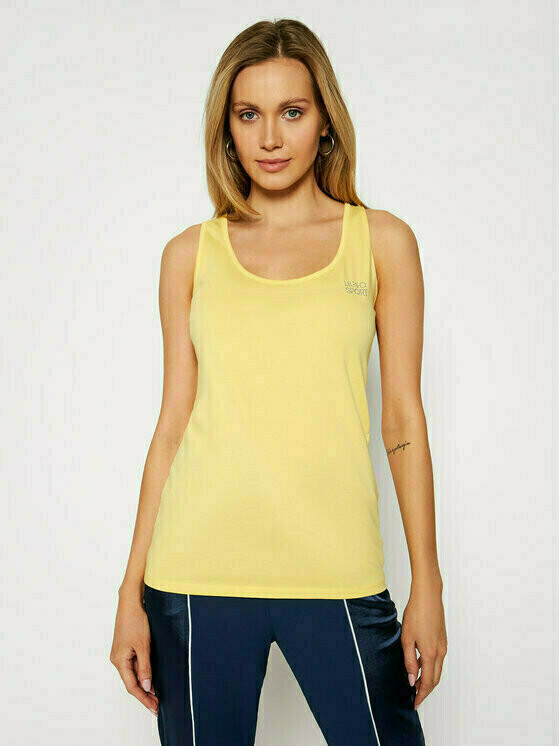 Liu Jo Sport Top TA1093 J5003 Żółty Regular Fit