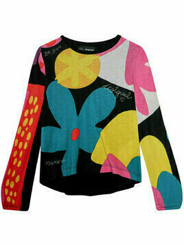 Desigual Bluzka Crawley 20WGTK60 Kolorowy Regular Fit