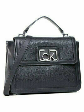 Calvin Klein Torebka Flap Top Handle Md K60K607091 Czarny