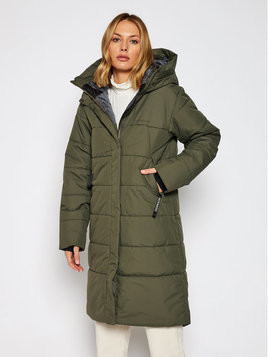 Didriksons Parka Tindra 503661 Zielony Relaxed Fit