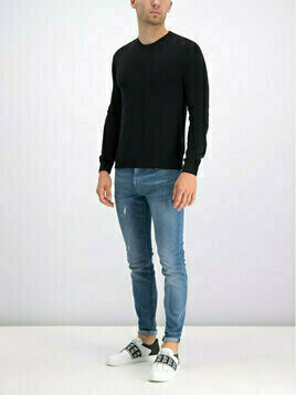 Trussardi Jeans Jeansy Slim Fit 370 Extra Slim Seasonal Denim 52J00008 Niebieski Slim Fit