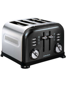 Toster MORPHY RICHARDS 44733 Accents Black