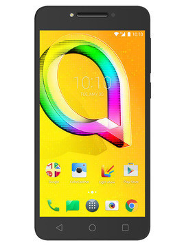 Smartfon ALCATEL A5 LED Czarny