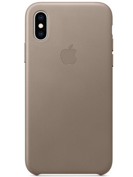 Etui APPLE do Apple iPhone Xs MRWL2ZM/A Jasnobeżowy
