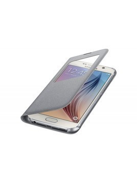 Etui SAMSUNG do Galaxy S6 S View Cover Zero Flat Srebrny