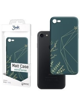 Etui 3MK Matt Case Jingle All The Way do Apple iPhone 7/8/SE 2020 Zielony