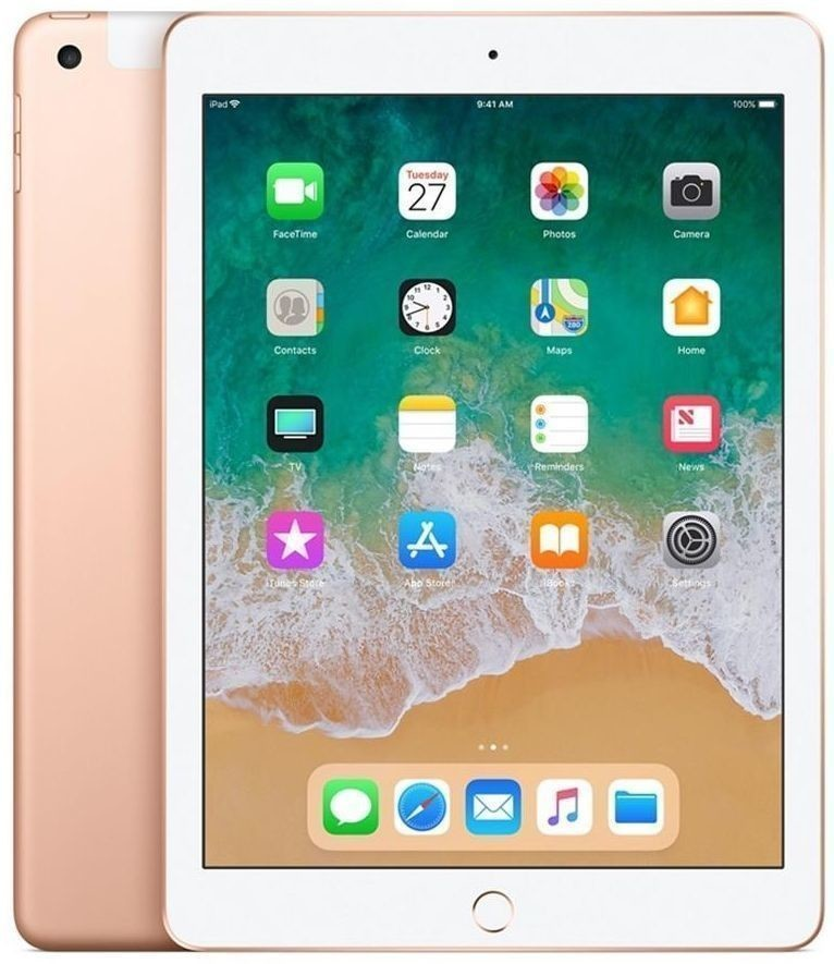 APPLE iPad 9.7 128GB LTE Złoty
