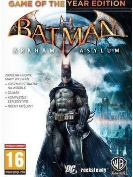 Kod aktywacyjny Gra PC Batman - Arkham Asylum Game of The Year Edition