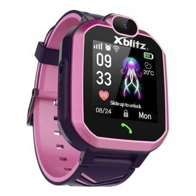 Smartwatch XBLITZ Kids Watch GPS Hear Me Różowy