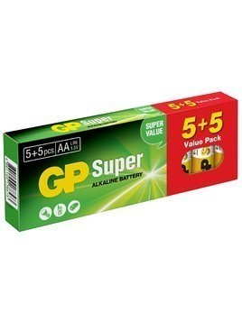 Bateria GP BATTERY Super Alkaline LR6/AA (10 szt.)