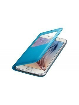 Etui SAMSUNG do Galaxy S6 S View Cover Zero Flat Niebieski