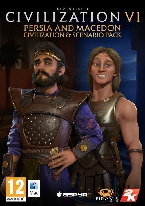 Kod aktywacyjny Gra MAC Sid Meier's Civilization VI - Persia and Macedon Civilization & Scenario Pack
