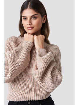 Bell Sleeve Lurex Knit