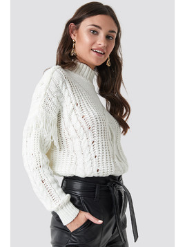 Cable Knit Detailed Sweater
