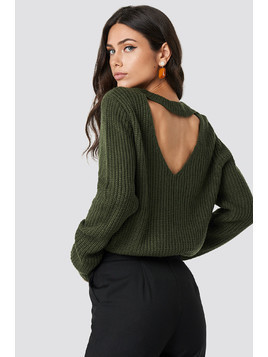 Knit Back Open