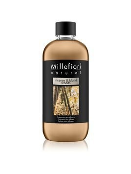 Millefiori Natural Incense & Blond Woods napełnianie do dyfuzorów 500 ml