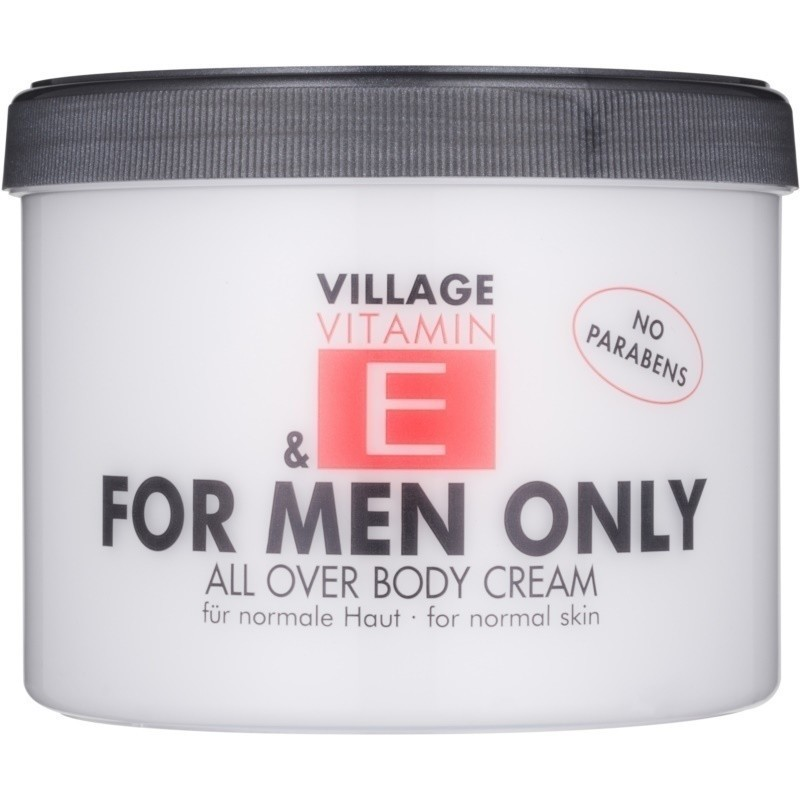 Village Vitamin E For Men Only krem do ciała bez parabenów