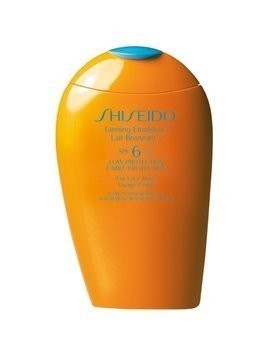Shiseido Sun Care Tanning Emulsion mleczko do opalania SPF 6 150 ml