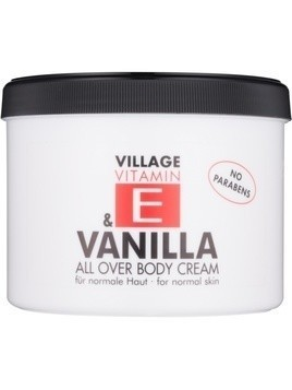 Village Vitamin E Vanilla krem do ciała bez parabenów 500 ml