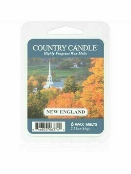 Country Candle New England wosk zapachowy 64 g