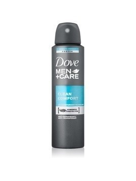 Dove Men+Care Clean Comfort dezodorant - antyperspirant w aerozolu 48 godz. 150 ml